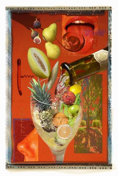 Susan Bourgoin Photographic Collage - Spanek