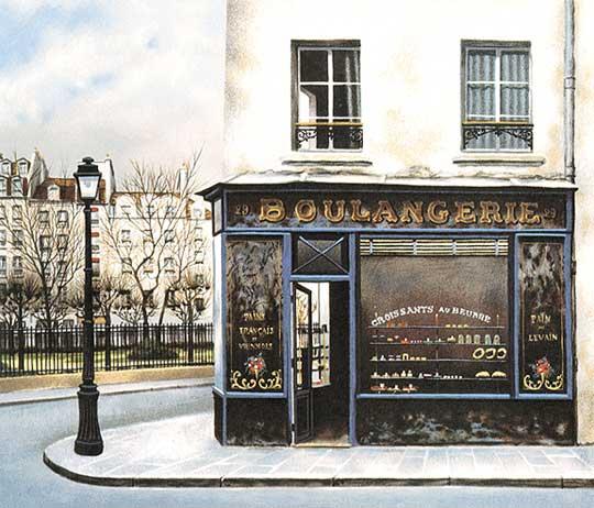 André Renoux: Boulangerie du Square