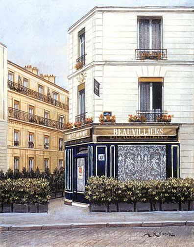 André Renoux: Restaurant 'Beauvilliers'