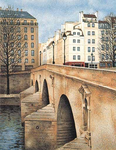 André Renoux: Pont Marie