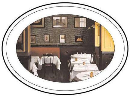 Image: Paris Restaurant Interiors - Chez Allard II Platter