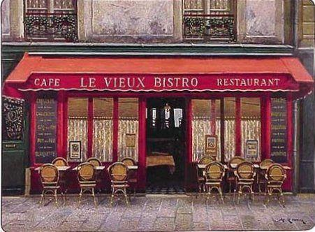 Image: The Bistros of Paris Placemat Collection