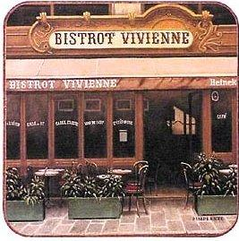 Image: The Bistros of Paris Coaster Collection