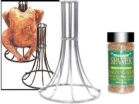 Image: 30<sup>th</sup> Anniversary Chicken/Duck Roaster Combo (Chrome)