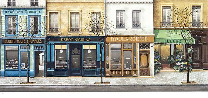 Andr renoux boutiques a paris limited edition at spanek welcomes you - Paris shopping boutiques ...